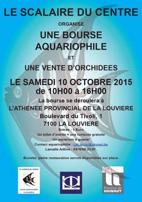 Manifestations Francophone aquariophilie